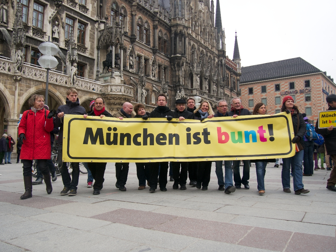 München ist bunt! - Foto: Stefan Lorenz
