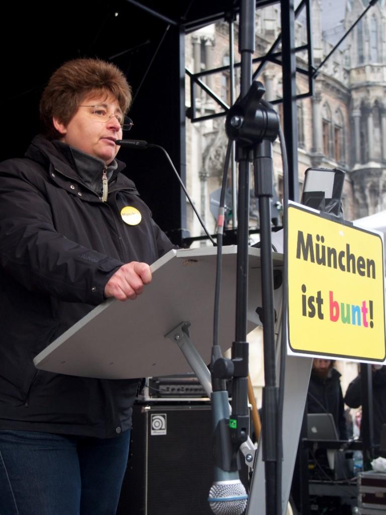 Micky Wenngatz, Vors. des Vereins München ist bunt! - Foto: Stefan Lorenz