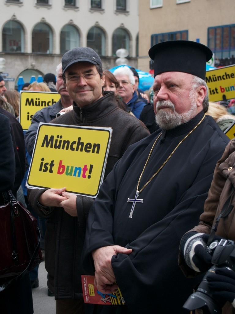 StR. Heimo Libich und Erzpriester Malamoussis - Foto: Stefan Lorenz