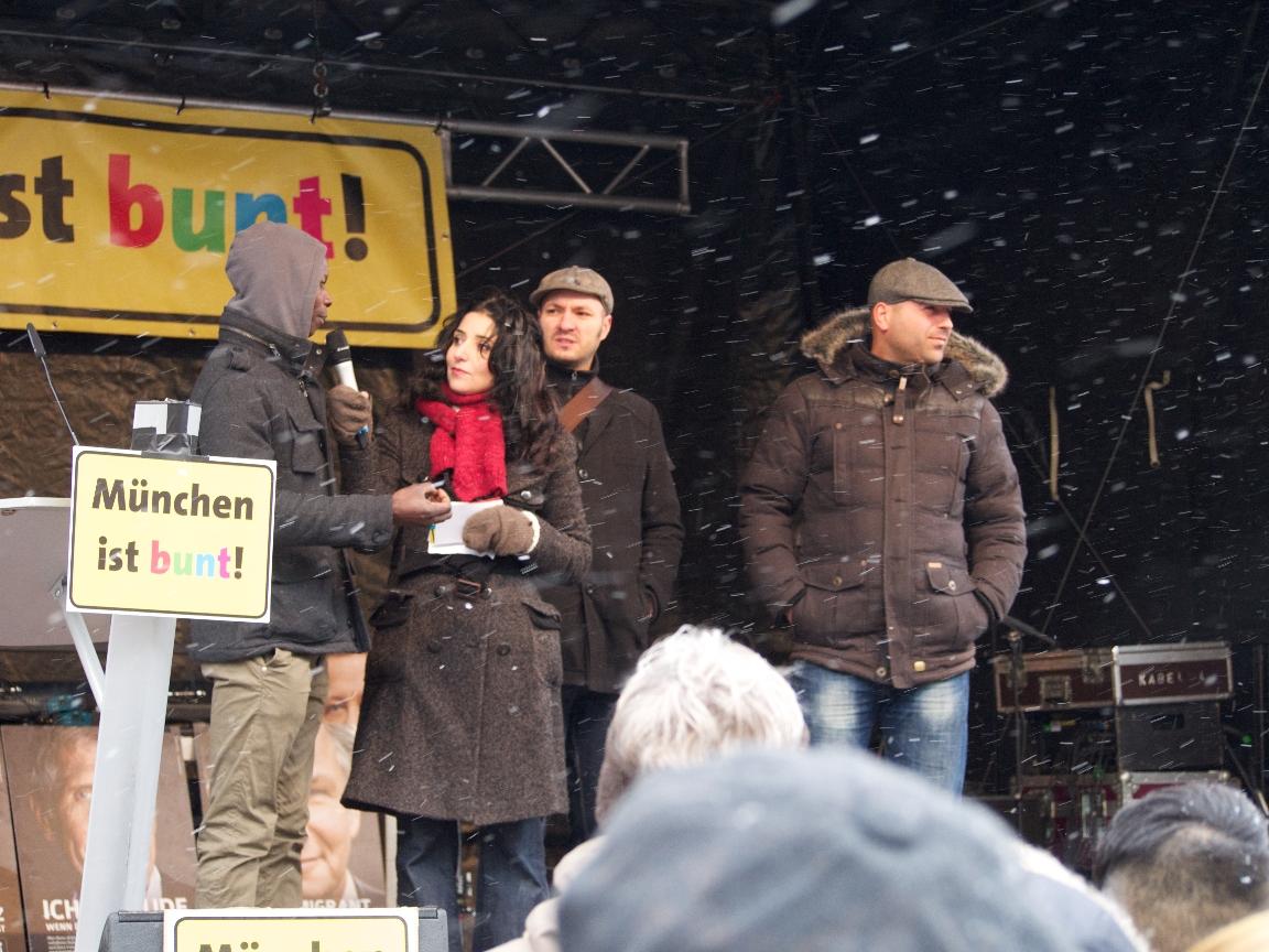 """Gesprächsrunde """"Alltäglicher Rassismus"""" - Foto: Stefan Lorenz"""
