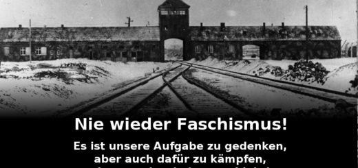 Nie Wieder Faschismus!