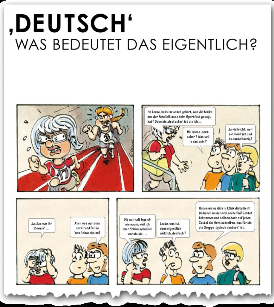 """Ausschnitt """"Deutsch"""""""